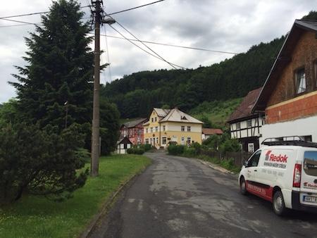 Village in Czech