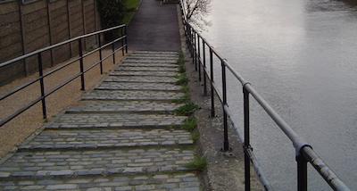 River Lea Steps